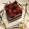 カフェ ド ラム - 料理写真:ベリー&ブラッドオレンジケーキ
