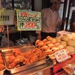 中華粽専門店 龍鳳 - 屋台のようすです