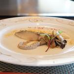 ステーキ・鉄板料理和かな - 大船渡産活サワラの瞬間スモーク