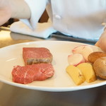 ステーキ・鉄板料理和かな - いわて短角牛の希少部位と前沢牛フィレ
