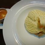 マスカルポーネチーズアイスを使ったアフォガード