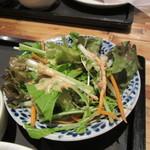 ベトナム フロッグ - ランチのサラダ