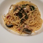 いさぎ - 秋刀魚のペペロンチーノ