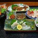 江戸前きよ寿司 - するめいかのフルコース料理