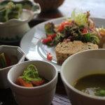 茶の子 - 料理写真:スープセット