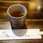 禅味 一茶庵本店 - 料理写真:お吸い物の様な蕎麦湯