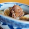 Fukagawa - 料理写真:合鴨(あひがも)の皮(かは)