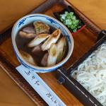 ふか川 - 鴨蒸籠(かもせいらう)鴨汁(かもじる)