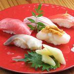握り寿司(5貫)