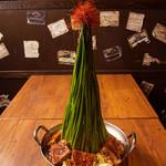 ★極★高高高ニラ肉鍋