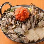 牡蠣×かき×牡蠣★牡蠣まみれ湯豆腐