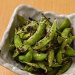 炭火焼き 枝豆