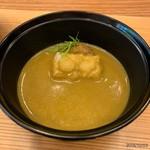 柚木元 - 和製ポルチーニのスープ