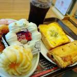 ミスタードーナツ - ドーナツビュッフェ     60分     ¥1200