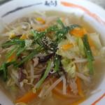 Aji-Q - 野菜タンメン ¥670