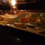 ジガーバー シルクロード - チーズ盛り合わせ 1,500円