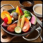 窯焼き野菜のバーニャカウダ