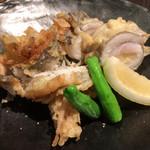 丿貫 - 丿貫(太刀魚の葱巻き天麩羅)