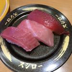 スシロー - 料理写真:天然マグロ3貫盛  300円