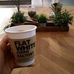 フラット ホワイト コーヒー ファクトリー - 水出しコーヒー!