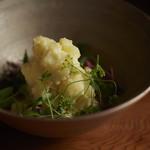槐樹 - 自然栽培のジャガイモ ポテトサラダ