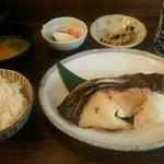 和食 かとう - 銀だら西京焼き定食