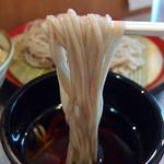 甲斐そば - 牛とじ丼セット・もりそば(520円)