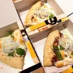 93878382 - フレッシュミントチョコレートピザ