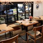 お籠り個室と彩りなだれ寿司 瑞Kitchen - 2階のテーブル席