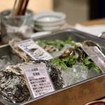 お籠り個室と彩りなだれ寿司 瑞Kitchen - 生牡蠣(本日のおすすめ)