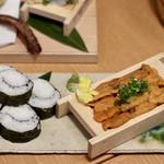 お籠り個室と彩りなだれ寿司 瑞Kitchen - 板生うに一枚盛り