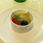 ヴィ ザ ヴィ - 食前のお楽しみ~野菜のマリネ