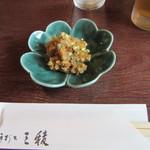 三稜 - 料理写真:「そばみそ」