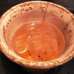 味噌坐 玉響 - 梅酒(ロック)