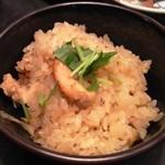 味噌坐 玉響 - 本日の釜炊き飯