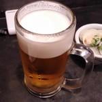 味噌坐 玉響 - ビール