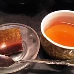 味噌坐 玉響 - お茶請け
