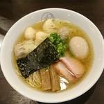 93881899 - 特製ワンタン麺 白だし+味玉
