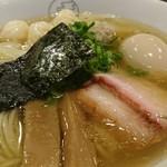 93881904 - 特製ワンタン麺白だし+味玉