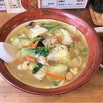 シバライズ - 料理写真:シバライズ(日替り麺ランチ780円・たんめん+スモールカレー)