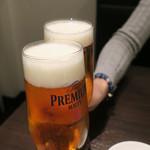焼肉グレート - 生ビール