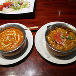 Asian Dining & Bar SAPANA - バターチキンとベジタブル
