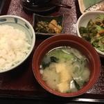 93889187 - ご飯・味噌汁・野菜サラダ