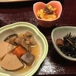 魚平 - 小鉢の3品
