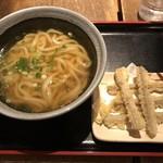 麺や ほり野 - ごぼう天うどん=500円