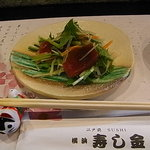 寿し金 - 箸と取り皿