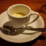 ビストロ ポワル - コーンの冷製スープ