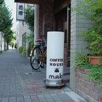 コーヒーハウス マキ - 下町っぽさが残る看板も可愛らしいです