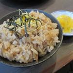 お福 - 【地鶏めし 340円】