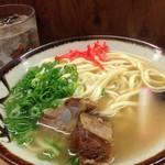 おきナニワん・キッチン - 透き通ったスープ